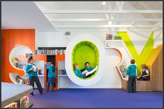 From a 1950s-style diner to a double-decker library bus, some quirky and unusual school environments to help inspire