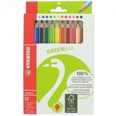 Stabilo Green Trio Pencils