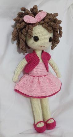 Sweet little crochet doll base Crochet Doll Pattern, Crochet Patterns Amigurumi, Amigurumi Doll, Crochet Dolls, Crochet Baby, Diy Crafts Crochet, Crochet Projects, Knitting Loom Dolls, Doll Patterns
