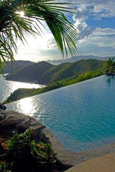 Peter Island Resort, Caribbean Falcons Nest Villa-infinity pool