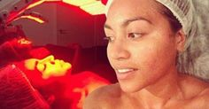 """"""" CELEBRITIES REVEAL THEIR SECRET TO GLOWING SKIN...OMNILUX""""   """" Her secret's out! Jessica Mauboy is a barefaced beauty after visiting her skin therapist to the stars"""" Book an appointment now with Angela on  0410 911 416"""