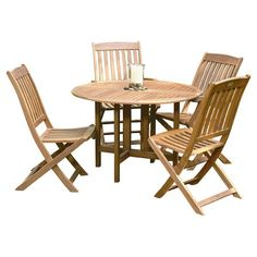 Found it at Wayfair - Celebration 5 Piece Dining Set