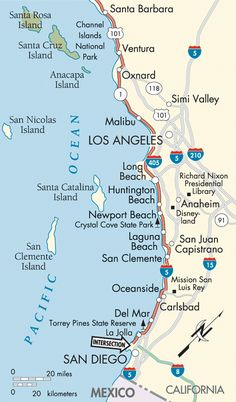 Map Of California Malibu.13 Best California Map Images California California Map Maps
