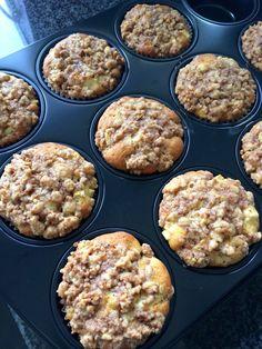 Muffin de canela e maçã
