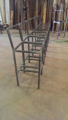 Hudson & Co. bar stools by #metalfreddesigns in Nashville, TN