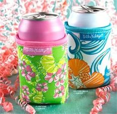 lily pulitzer koozie products-i-love
