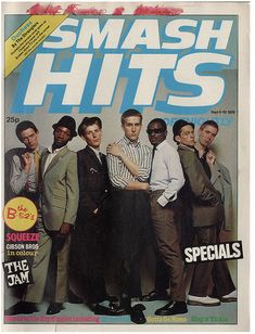 "21 Vintage Covers Of ""Smash Hits"" Magazine"