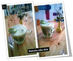 --------------------------{Loa Loa!! Món mới}-------------------------------- <3 <3 <3 [MATCHA SỮA DỪA] + [HOJICHA SỮA DỪA] <3 <3 <3 Một sự kết hợp mới giữa: + 2 loại trà ngon của Nhật (Trà xanh Matcha; trà rang Hojicha) + công thức sữa dừa đặc biệt => béo thơm nhưng không gắt của sữa dừa => hòa với mùi trà xanh, trà rang đặc trưng  => thêm phần đá bào mát lạnh tất thảy tạo nên một thức uống ngon và bổ dưỡng mới nhé  :) Chương trình giảm giá thường xuyên dành cho khách thường xuyên vẫn đang…