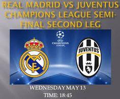 Juventus vs Real Madrid Real Madrid Vs Juventus, Turin, Juventus Live, Live Soccer, Semi Final, Champions League, Finals, Scores, Nike