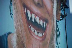 graffiti shark teeth