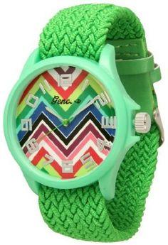 http://interiordemocrats.org/geneva-braided-fabric-rainbow-chevron-face-watchgreen-p-5798.html