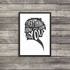 Labyrinth poster  Everything I've done I've by GeekyGamerGirls