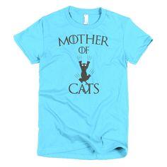 Mother of Cats Short sleeve women's t-shirt