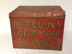 Koffie blik de Bruijn Tilburg.