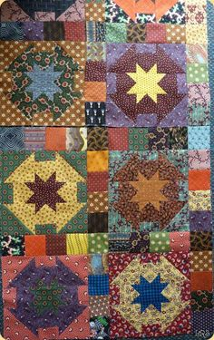 Great project for scraps. Kim Diehl quilt. On to do list.