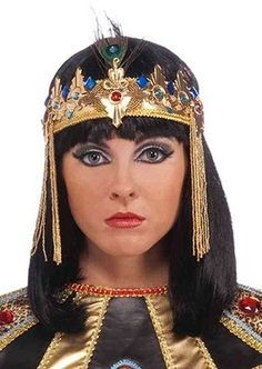 Diy Cleopatra Headdress homemade egyptian headpiece