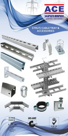 #perforatedcabletray #accessories #ladder #tray #cabletrunking #wiremesh #cablestrut #concrete #channel #dinrails #plain&slotted