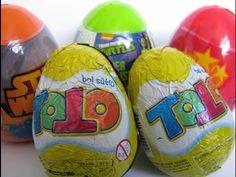 Angry Birds, Mutant Ninja Turtles, Star Wars, Toto Surprise Eggs Huevos Sorpresa Uberraschung - YouTube