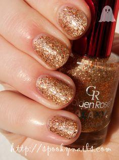 Golden Rose Galaxy #22 + topcoat