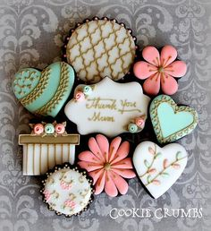 Mother's Day cookies | by mint_lemonade