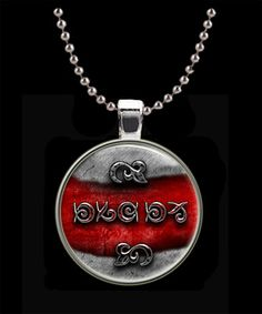 The Unfound Symbols Pendant  from The Dark Tower by Keukasigns, $9.00