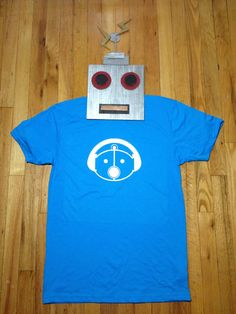 Sam the Robot Adult TShirt by TheVintageRobot on Etsy, $16.99