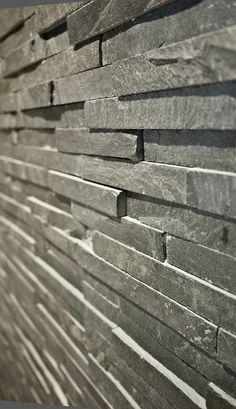 Brazilan slate textured wall