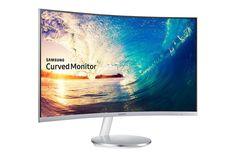 Samsung lança monitor LED mais curvo do mercado - http://www.showmetech.com.br/samsung-monitor-led-curvo/