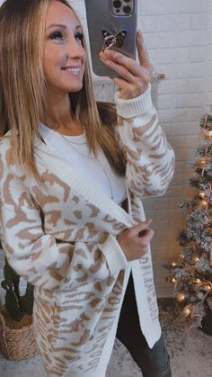 Out In The Wild Animal Print Cardigan Cream/Beige, Free Shipping! #style #love #beautiful #selfie #fashionaddict #ootd #blackleggings #wiw #100dollars #followme Animal Print Cardigans, Fall Days, Sophisticated Style, Alternative Fashion, Fashion Addict, Black Leggings, Spring Outfits, Scarves, Beige