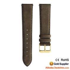 Brown Matte Suede Leather Watches Strap 3W-S-L28, click picture to designs your own brand watch.
