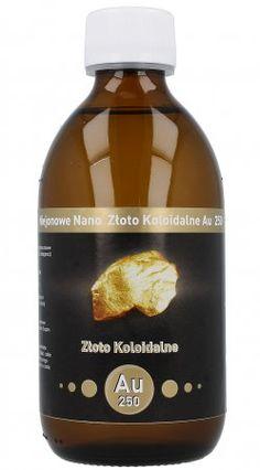Nano Złoto Koloidalne AU 250 ml - Vitacolloids.pl 25 ppm