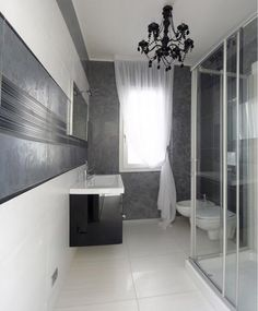 """I feel like """"goth"""" might be the new """"twee"""" for bathrooms, but this almost works"""