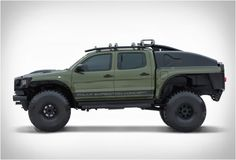 Xplore Vehicles Toyota Tacoma Polar Expedition Truck AUTOKAVLA