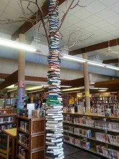 Albany County Public Library, Laramie, WY. Altered Books, Public, Artists, Home Decor, Decoration Home, Room Decor, Book Art, Home Interior Design, Artist