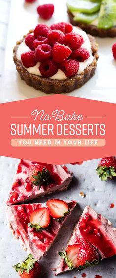 29 No-Bake Summer Desserts For When It's Hot AF Outside