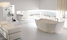 El sueño de un baño moderno.TOSCOQUATTRO #diseño #baño