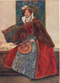 James Dromgole Linton - Portia, illustration from The Merchant of Venice