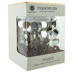 Bring some light into your locker with this Silver Chandelier from U Brands ! This light is the perfect way to bring brighten your locker and create a chic environment for between classes. This wor. Silver Chandelier, Led Chandelier, Locker Designs, Locker Ideas, Locker Stuff, Locker Wallpaper, Middle School Lockers, School Locker Decorations, Upcycling