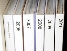 MUST READ !! This lady has got the PHOTOS thing figured out - loved the post - must do ! (Great information about making photo books and organizing pictures on your computer) diy-ideas
