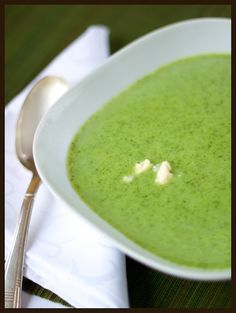 Broccoli and Blue Cheese soup ... great for cold season and delish.  I would recommend using gorgonzola cheese instead of blue.