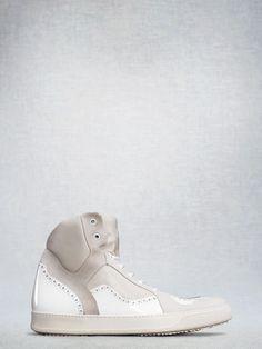 Acne Ludlow White White men's sneakers