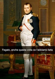 "Jacques- Louis David. "" L'imperatore Napoleone nel suo studio alle Tuileries """