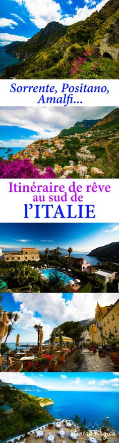 From Sorrento to Amalfi, the divine coast - 8 Women Travel List, Italy Travel, Europe Travel Tips, Travel Destinations, Budget Travel, Travel Guide, Positano, Italy Places To Visit, Places To Go