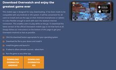 With Ovewatch Mobile you can now enjoy playing your favorite game on both Android and iOS phones and tablets. And trust us, it is really great to play it on those! Ios Phone, Played Yourself, Overwatch, Mobile App, Phones, Trust, It Works, Android, Games