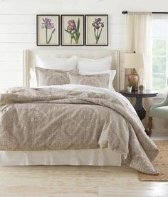 white bedspread | for the home | pinterest