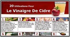 """L'utilisation du vinaigre de cidre appelé autrefois """"l'élixir de jouvence"""" date depuis plus de 10.000 ans. Aujourd'hui encore..."""