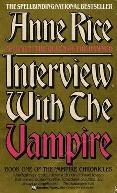 The 10 Most Twisted Couples in Literature.Lestat and Louis, Interview with the Vampire I Love Books, Great Books, Books To Read, My Books, Vampires, Anne Rice Books, Lestat And Louis, The Vampire Chronicles, Vampire Books