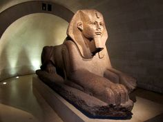 Great Sphinx of Tanis. From Old Kingdom Egypt, ca. 2600 BC. Located in the Louvre. Photo by Oh Paris, via Flickr.