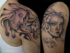 Pinup Virgo Tattoo By J On DeviantART