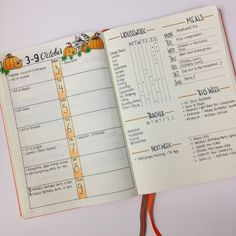 Lovely >> christina77star.c...: Bullet Journal: My October Set Up...